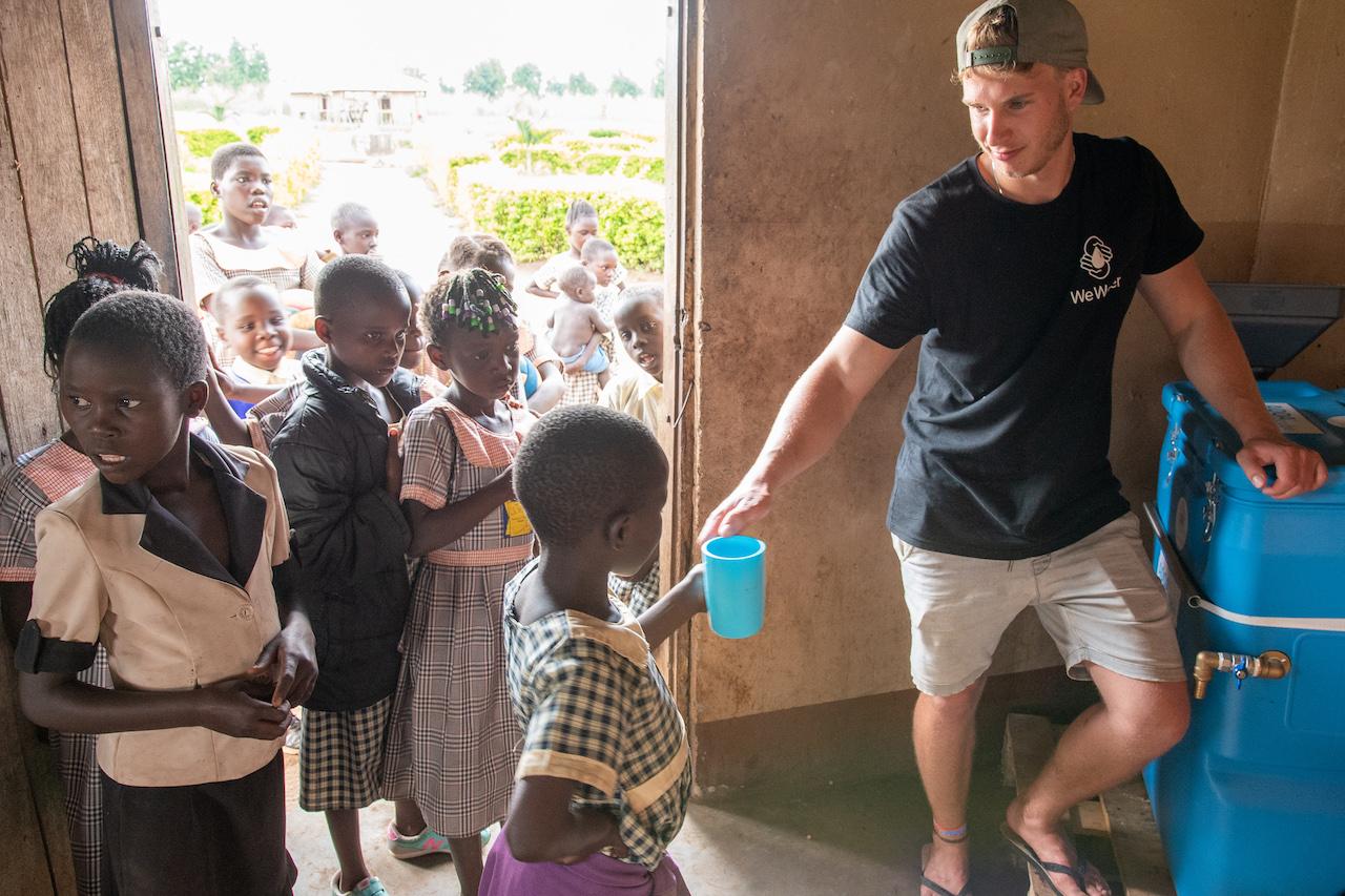 Sauberes Trinkwasser für Alle ist täglicher Ansporn für das Expertenteam von WeWater
